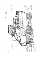 Carro armato da colorare 7