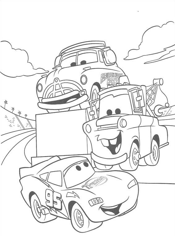 Cars da colorare 96