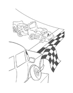 Cars da colorare 107