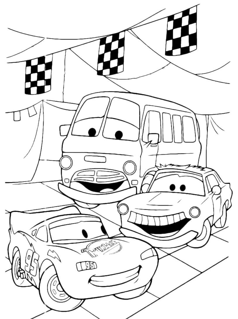 Cars da colorare 118