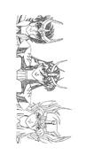 Cavalieri zodiaco da colorare 6