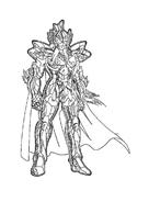 Cavalieri zodiaco da colorare 10
