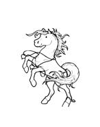 Cavallo da colorare 10
