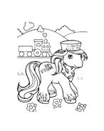 Cavallo da colorare 13