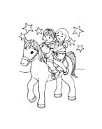 Cavallo da colorare 15