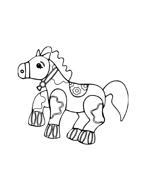 Cavallo da colorare 22