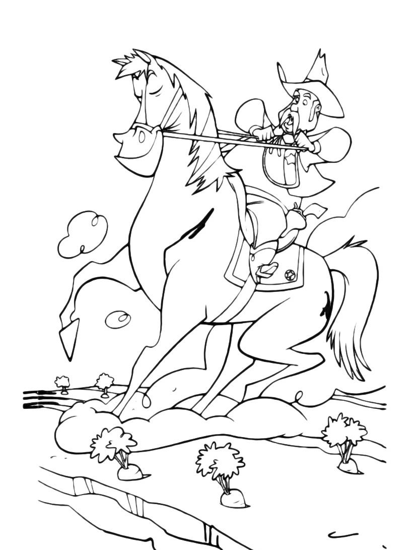 Cavallo da colorare 30