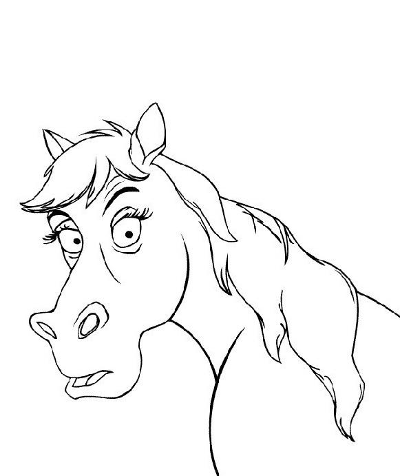 Cavallo da colorare 41