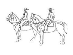 Cavallo da colorare 48
