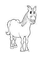 Cavallo da colorare 52