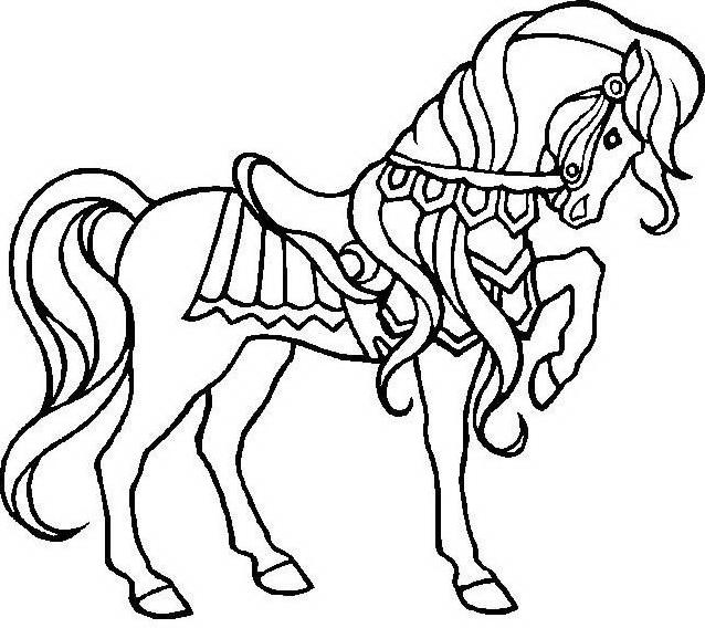 Cavallo da colorare 53