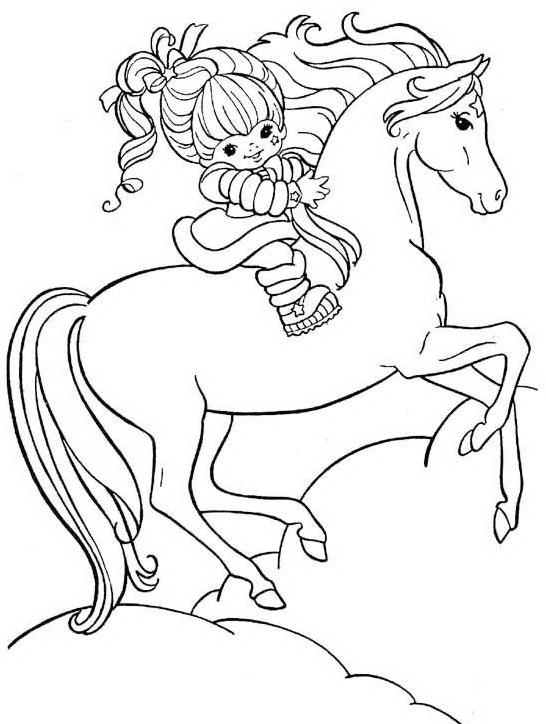 Cavallo da colorare 61