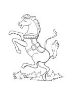Cavallo da colorare 64