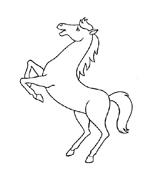 Cavallo da colorare 65