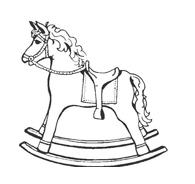 Cavallo da colorare 68