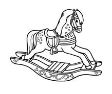 Cavallo da colorare 69