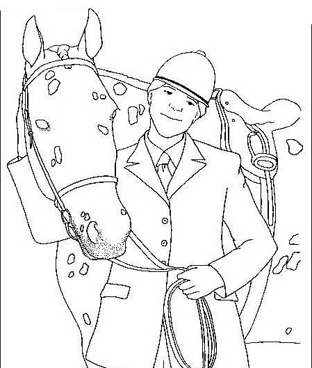 Cavallo da colorare 70