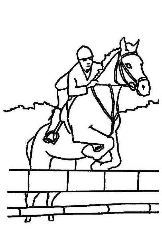 Cavallo da colorare 71