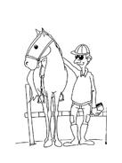 Cavallo da colorare 72