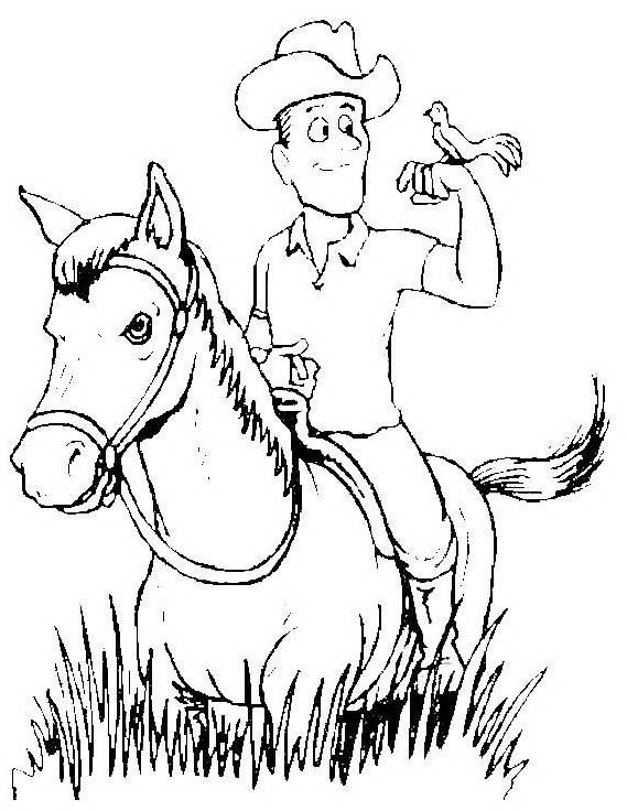 Cavallo da colorare 75