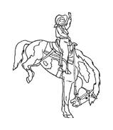 Cavallo da colorare 76