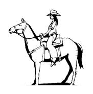 Cavallo da colorare 82