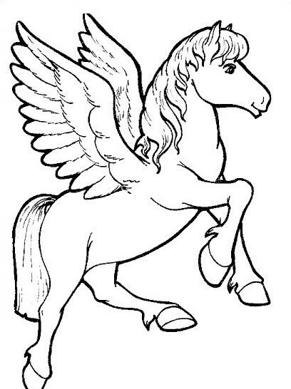 Cavallo da colorare 86