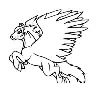 Cavallo da colorare 89
