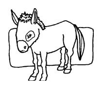 Cavallo da colorare 99