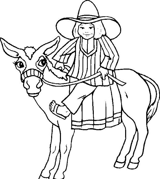 Cavallo da colorare 102