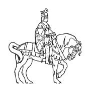 Cavallo da colorare 104