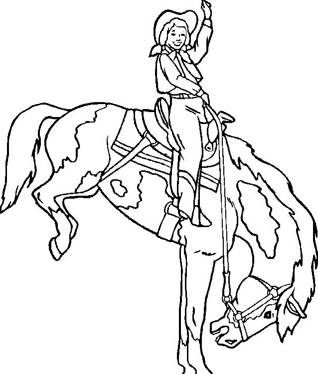 Cavallo da colorare 106