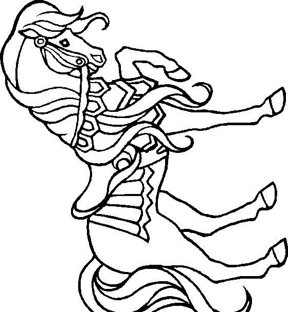 Cavallo da colorare 108