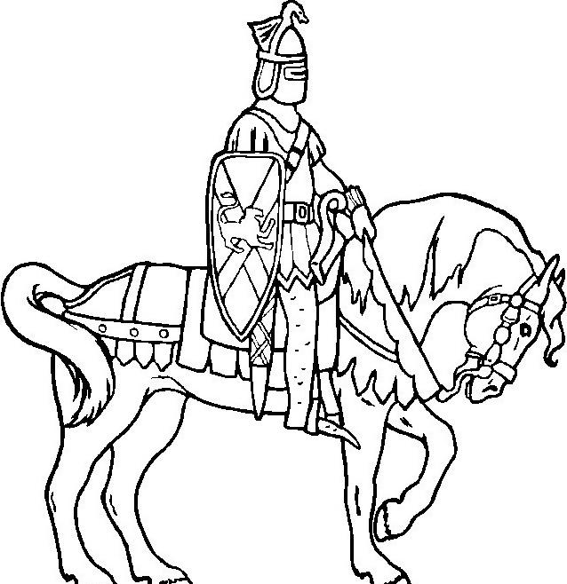 Cavallo da colorare 117