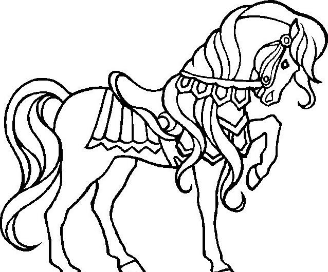 Cavallo da colorare 121