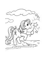 Cavallo da colorare 123