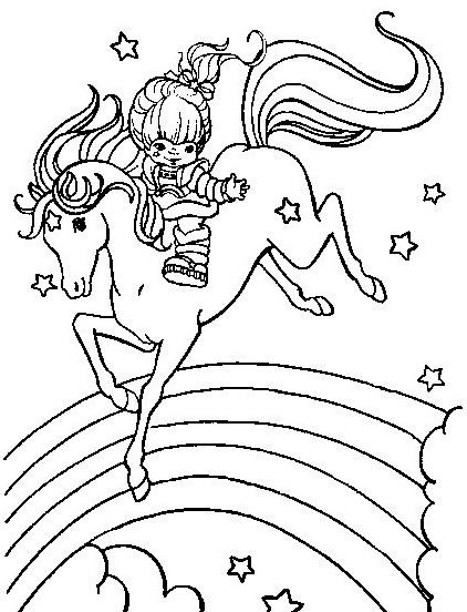 Cavallo da colorare 130