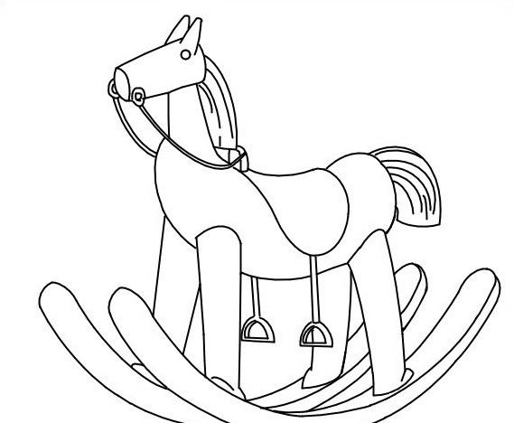 Cavallo da colorare 131