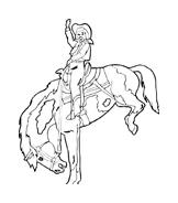 Cavallo da colorare 132