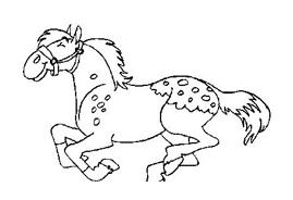 Cavallo da colorare 138