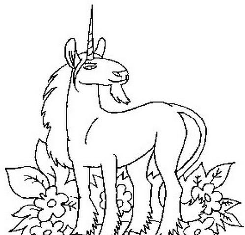 Cavallo da colorare 139