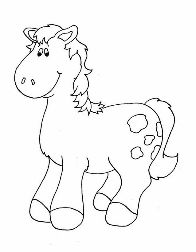 Cavallo da colorare 140