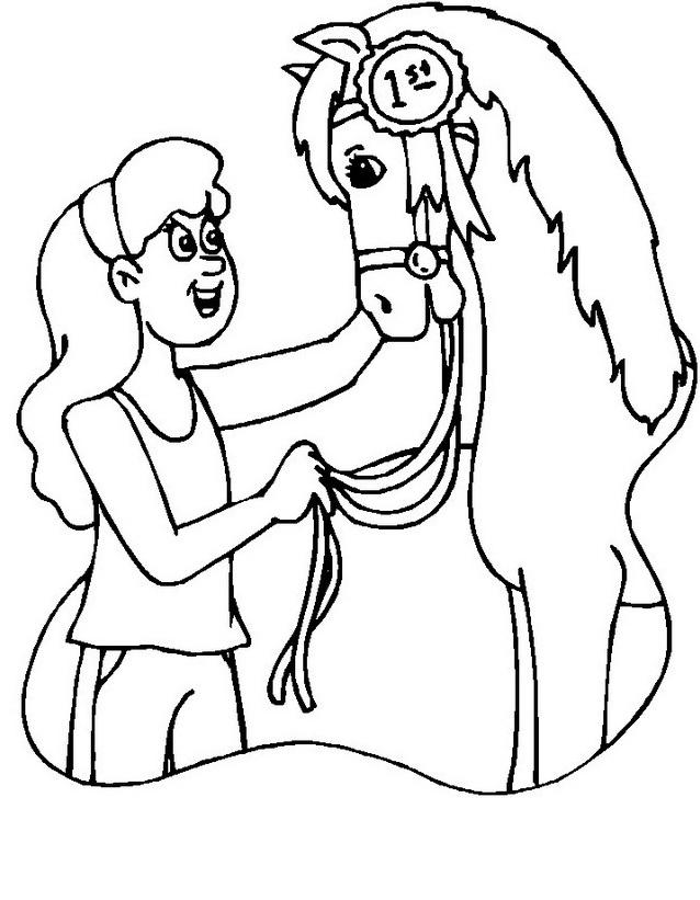 Cavallo da colorare 149