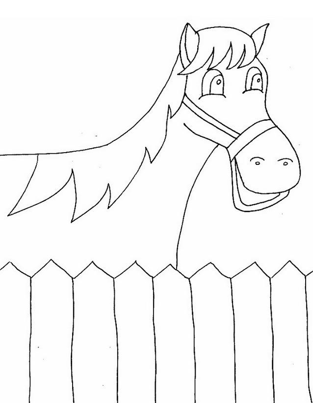 Cavallo da colorare 150