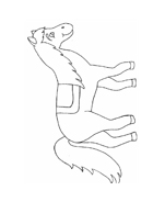 Cavallo da colorare 151