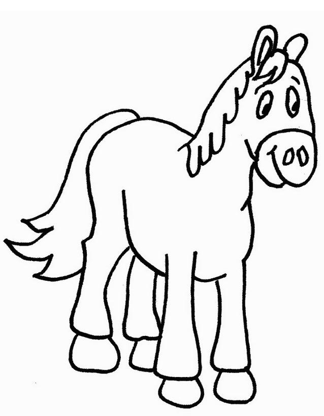 Cavallo da colorare 152