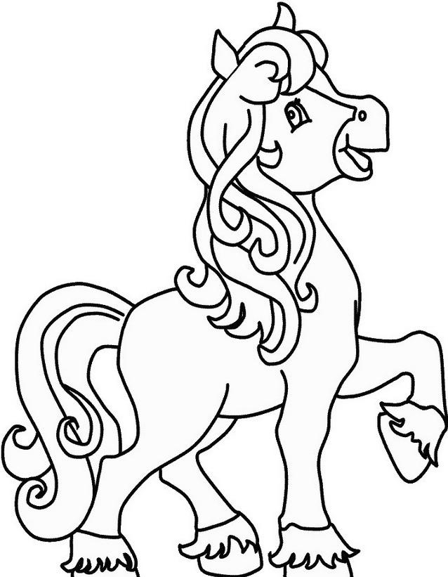 Cavallo da colorare 153