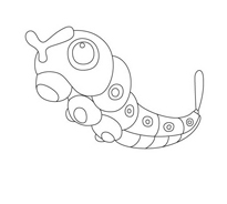 Pokemon 1 da colorare 19