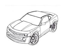 Automobile da colorare 91