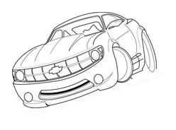 Automobile da colorare 92